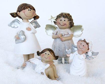 Angel, Guardian Angel, Wing, White, Sky, Enjoy, Harmony