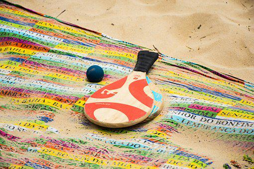 Sand, Racket, Beach, Sand Beach, Tourism, Holidays