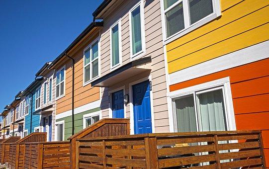 Bright Colors, Houston Tx, Blue Doors, Apartments