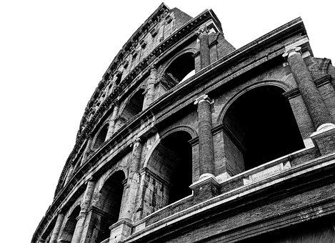 Rome, Lazio, Italy, Colosseum, Amphitheatre