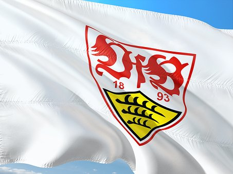 Flag, Logo, Football, Bundesliga, Vfb Stuttgart