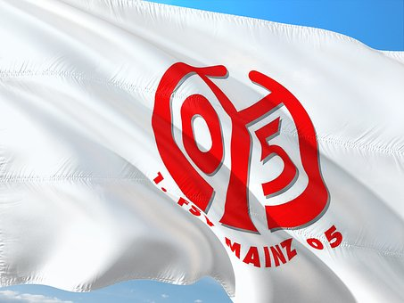 Flag, Logo, Football, Bundesliga, Mainz 05