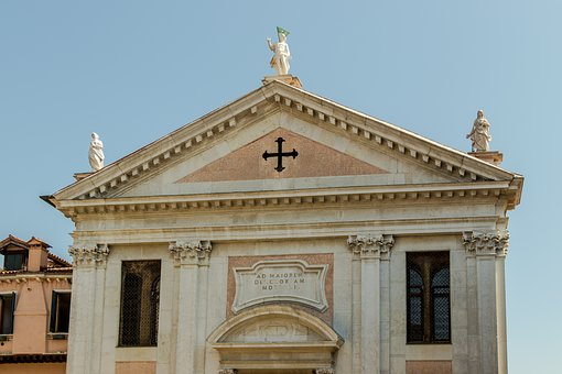 Italy, Church, The Basilica, Architecture, Monument