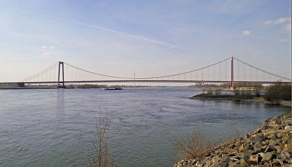Emmerich, Niederrhein, Last Rhine Bridge