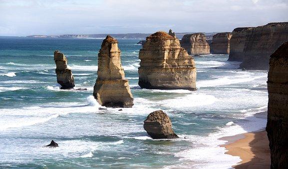 Apostles, Great, Ocean, Road, Australia, Melbourne