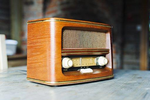 Radio, Vintage, Ancient, Rustico, Wood, Antiquity