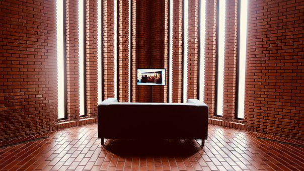 Red Brick Art Museum, Exhibition, Light, Sofa