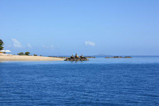 Australia, Whitesand Beach, Sailing, Whitesand, Island