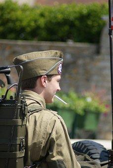Soldier, Normandy, Landing, War, Commemoration, D Day
