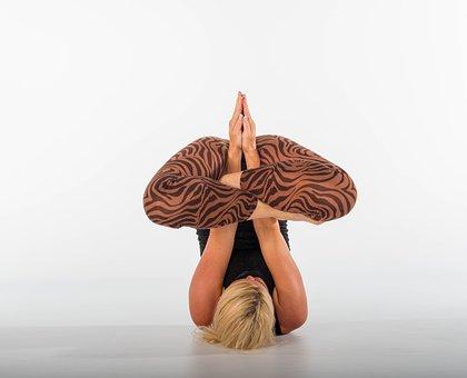 Yoga, Fitness, Woman, Ashtanga, Acrobatics, Sportive