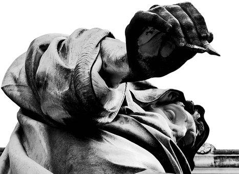 Rome, Lazio, Italy, Statue, Statues, St Paul, Basilica