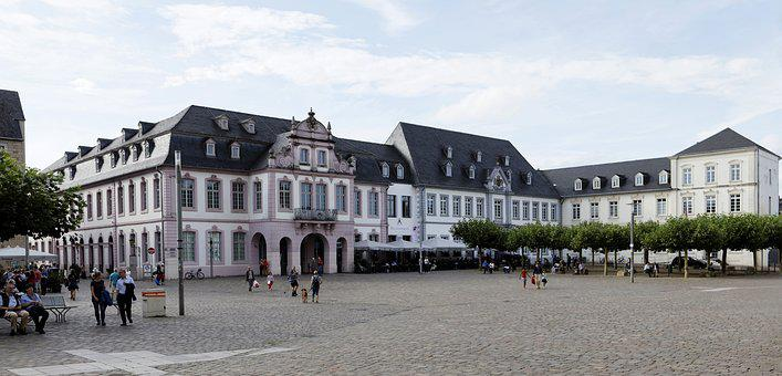 Cathedral Square, Trier, Panorama