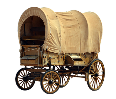 Covered Wagon, Usa, America, Dare, United States, Wagon