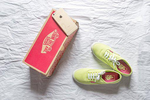 Vans, Shoes, Apple, Apple Iphone, Light Green