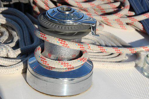 Rigging, Sails, Water, Sea, Sailboat, Sailing, The Mast