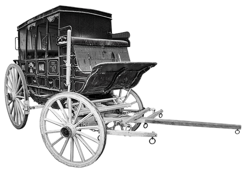 Stagecoach, Coach, Old, Wagon, Western