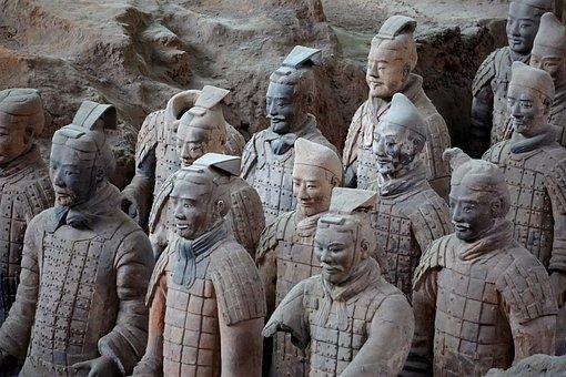 Terracotta Warriors, Terracotta Army, Terracotta, Xi'an