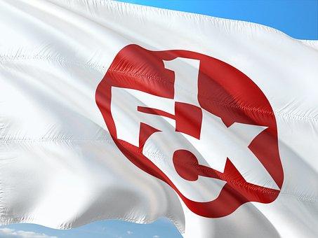 Flag, Logo, Football, 2, Bundesliga, 1