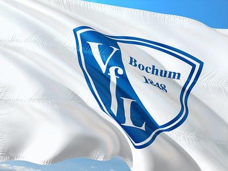 Flag, Logo, Football, 2, Bundesliga, Vfl Bochum