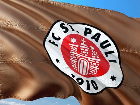 Flag, Logo, Football, 2, Bundesliga, Fc St Pauli