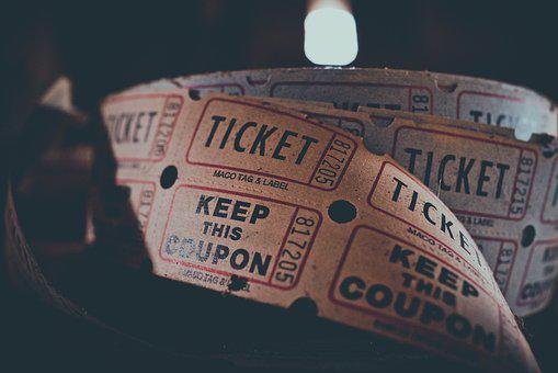 Ticket, Coupon, Admission, Carnival, Circus, Concert