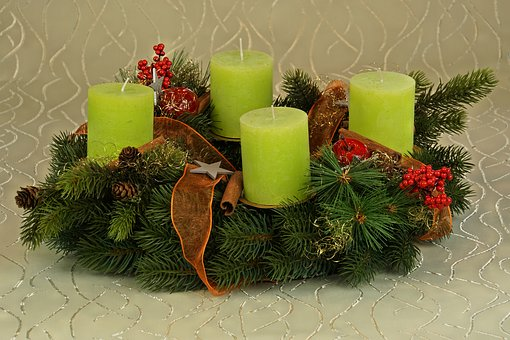 Advent Wreath, Advent, Decoration, Candle, Christmas