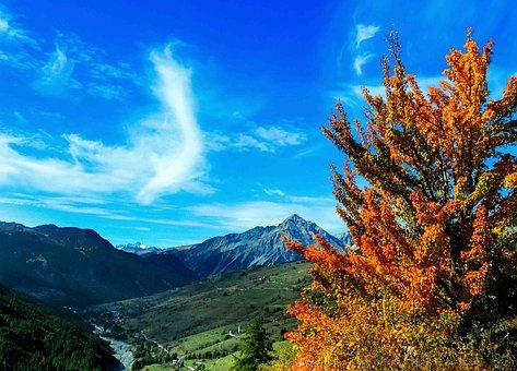 Sestriere, Piemonte, Italy, Alps, Mountain, Mountains