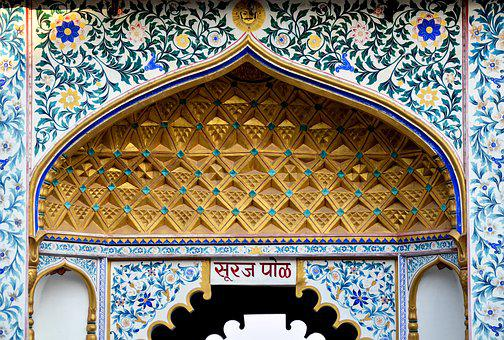 Udaipur, Palace, Rajasthan, Architecture, India, Famous