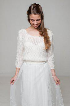 Bride, Bride-to-be Sweater, Knitting Sweater