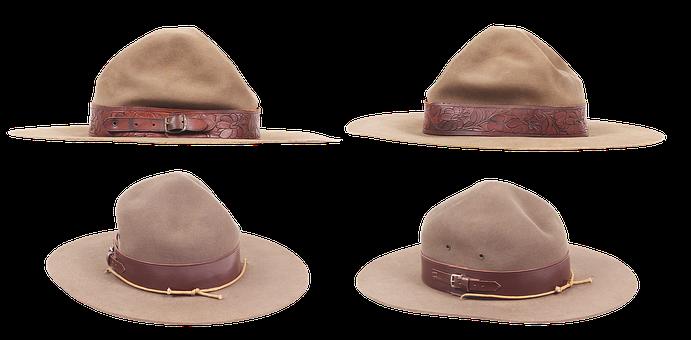 Hat, Headdress, Sun Protection, Army, Belt, Buckle