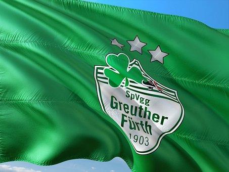 Flag, Logo, Football, 2, Bundesliga, Greuther Fürth