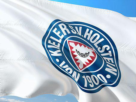 Flag, Logo, Football, 2, Bundesliga, Holstein Kiel