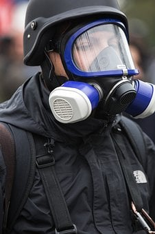 Mask, Gas, Event, Reporter, Helmets, Danger, Concepts