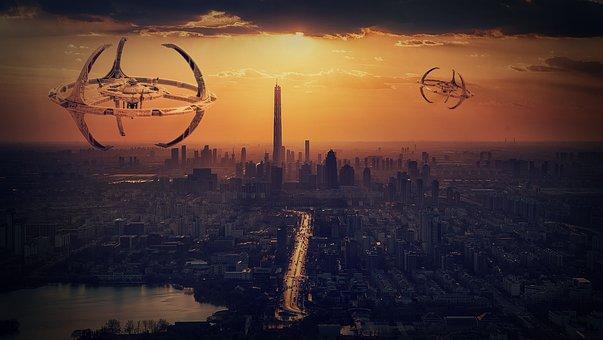 Science Fiction, Alien, Fantasy, Surreal, Artfully