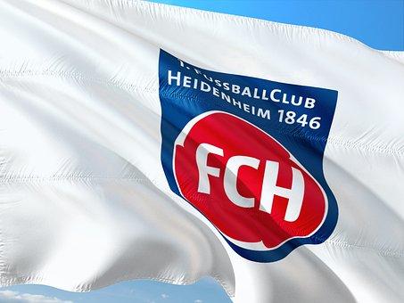 Flag, Logo, Football, 2, Bundesliga, Fc Heidenheim