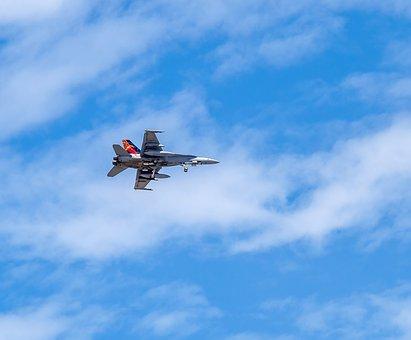 Raaf Hornet, Fighter Jet, Military Aircraft