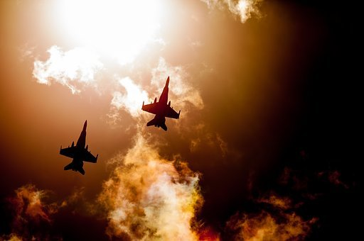 Raaf Hornets, Fighter Jets, Military Aircraft, Sunset