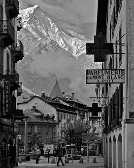 Chamonix, France, City, Cityscape, Travel, Mont Blanc