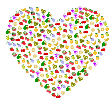 Heart, Fruit, Nature, Ecological, Green, Plant