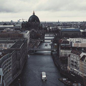 Berlin, Germany, Berlin Cathedral, Spree, Architecture