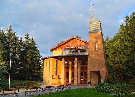 Hungary, Zalakaros, Building, Church