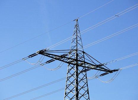 Railway Power Line, Main Supply, Eckmast, Anchor Pylon