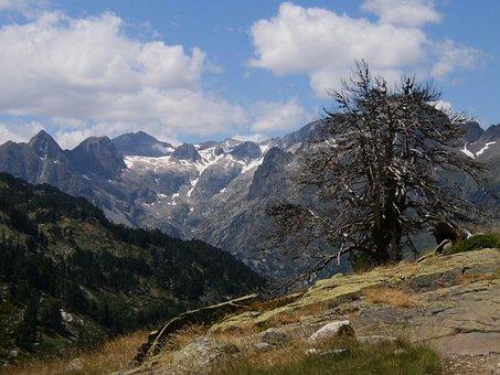 Mountain, Aragonese Pyrenees, Landscape, Nature