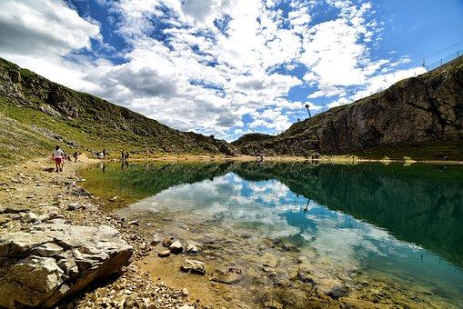 Lac Boé, Alta Badia, Val Badia, Mountain, Landscape