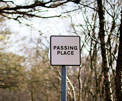 Passing Place, Sign, Place, Pass, Access, Symbol, Road