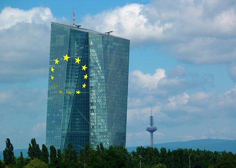 Ecb, European Central Bank, Skyscraper, Glass Facade