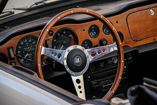 Steering Wheel, Classic, Steering, Wheel, Retro