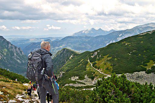 Tourism, Backpack, Mountains, Trail, Hiking Trail