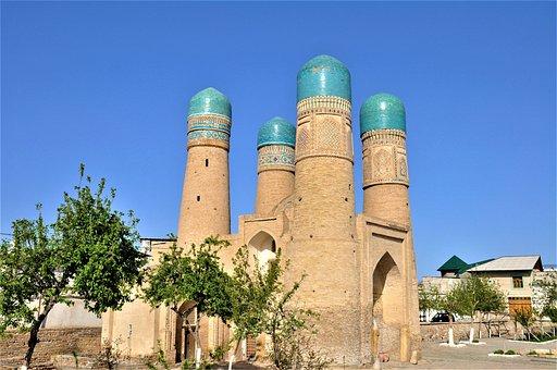 Uzbekistan, Bukhara, Central Asia, Turquoise