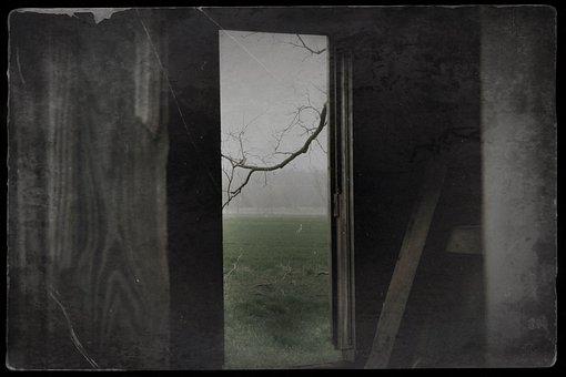 Door, Vintage, Old, Antique, Texture, Wood, Entrance